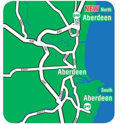 GAP Aberdeen Map