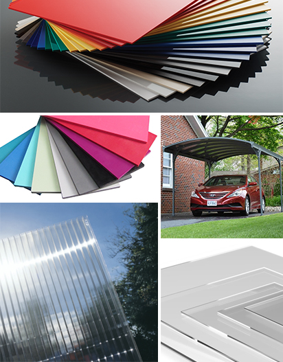 Sheet Materials Product Range