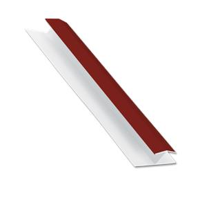 Cladding Centre Joint Trim Wine Red