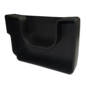 Twinplas Gutter End Cap Left Hand Black