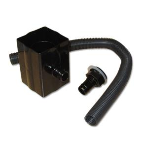 Square/Round Downpipe Rainwater Diverter Black