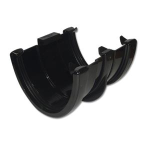 Hi-Cap Gutter Floating Union Inc Bracket Black