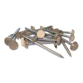 Plastic Headed Pins & Nails Cream