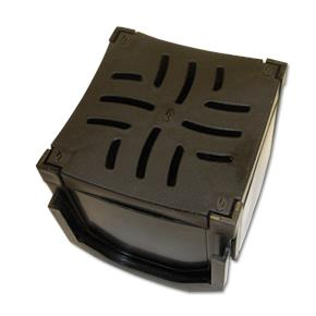 110mm Domestic Channel Drainage Corner